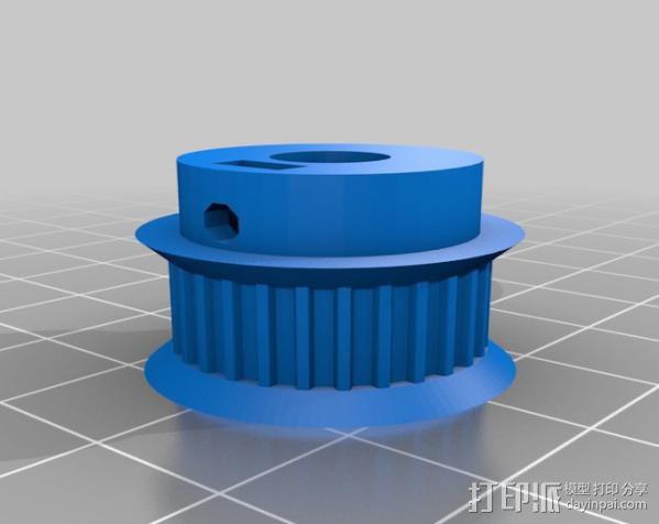 矩形盒式结构3D打印机 3D模型  图10
