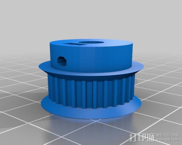 矩形盒式结构3D打印机 3D模型  图12