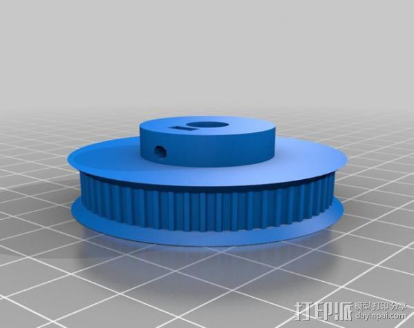矩形盒式结构3D打印机 3D模型  图11