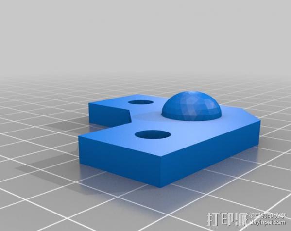 矩形盒式结构3D打印机 3D模型  图13