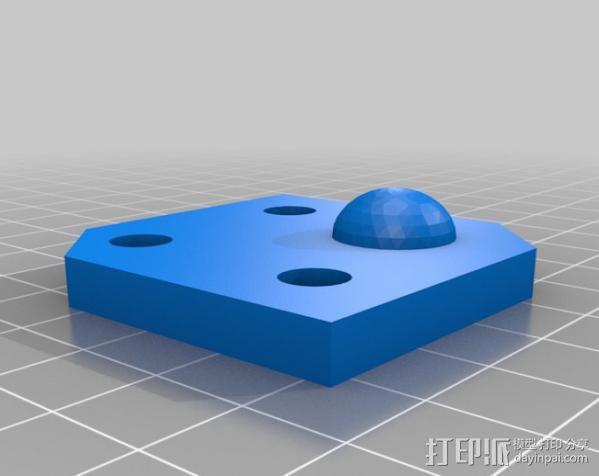 矩形盒式结构3D打印机 3D模型  图14