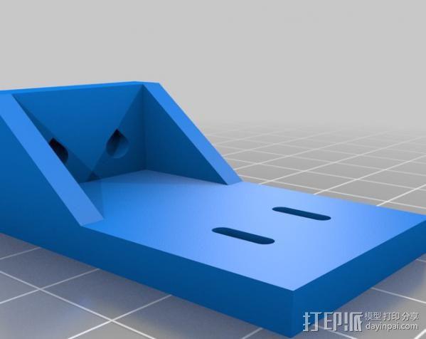 矩形盒式结构3D打印机 3D模型  图17