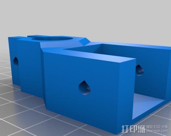 矩形盒式结构3D打印机 3D模型  图15