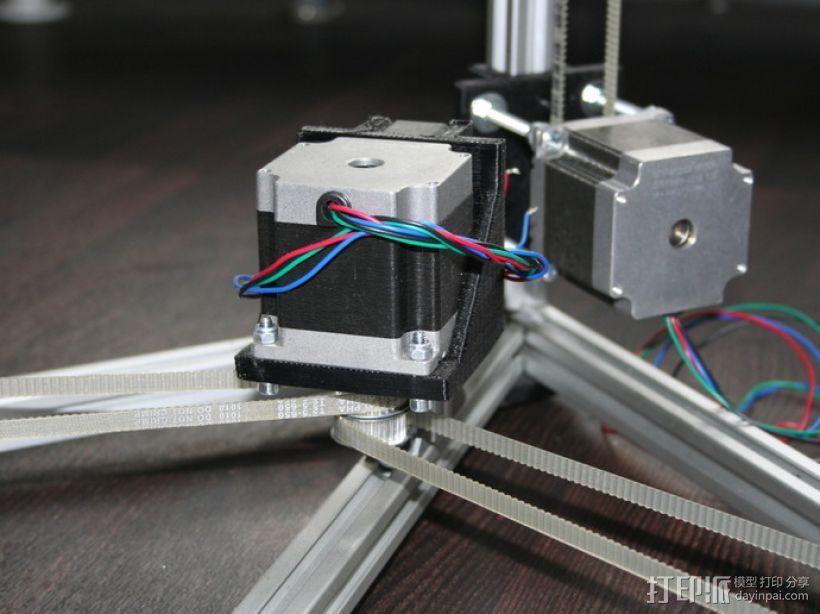 矩形盒式结构3D打印机 3D模型  图20