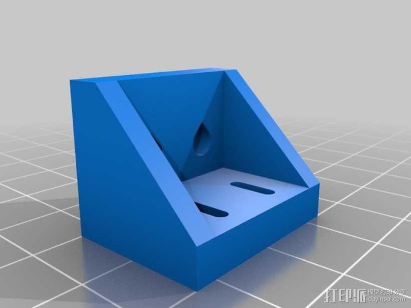 矩形盒式结构3D打印机 3D模型  图18