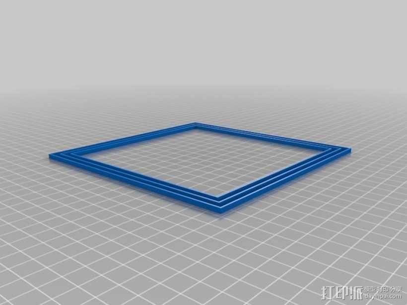 打印机调平器 3D模型  图1
