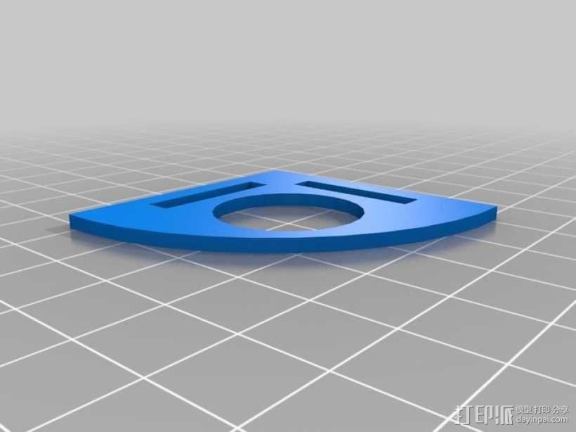升级版镍标度测试器 3D模型  图1