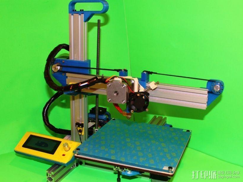 打印机滑块 3D模型  图1