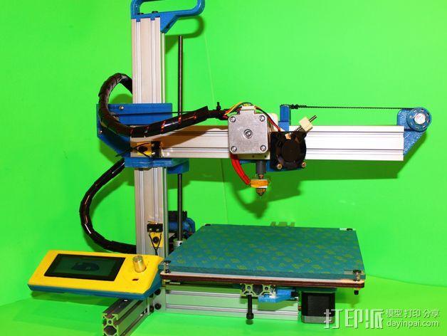 打印机滑块 3D模型  图2