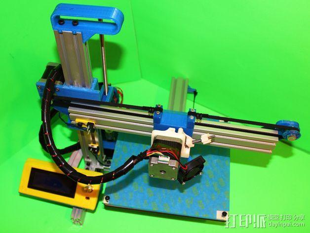 打印机滑块 3D模型  图3