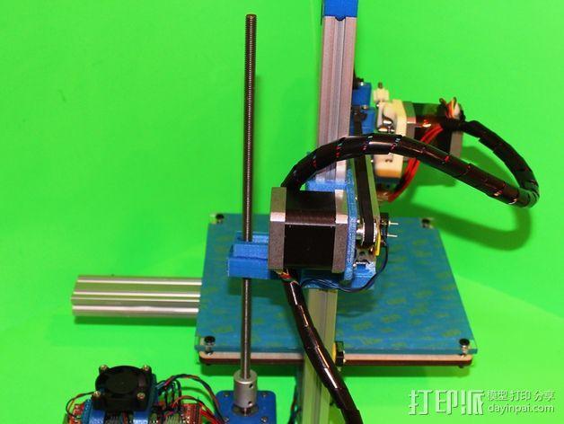 打印机滑块 3D模型  图4