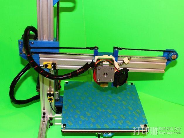 打印机滑块 3D模型  图5
