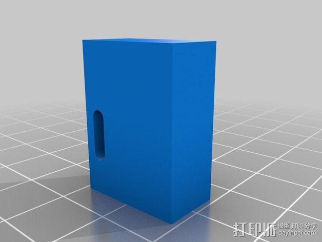 打印机滑块 3D模型  图7