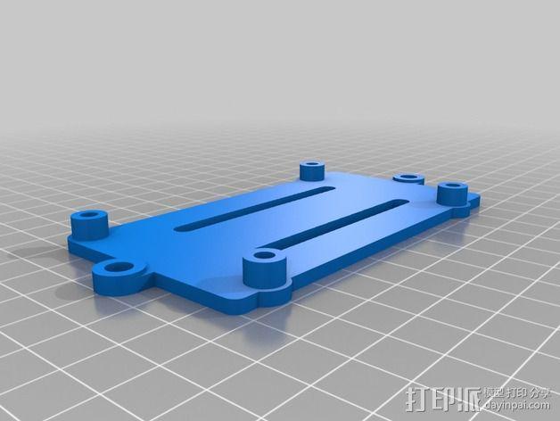 打印机滑块 3D模型  图9