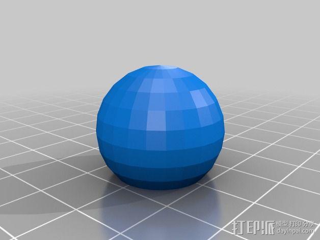 打印机滑块 3D模型  图11