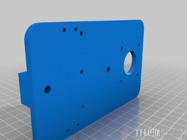 打印机滑块 3D模型  图16