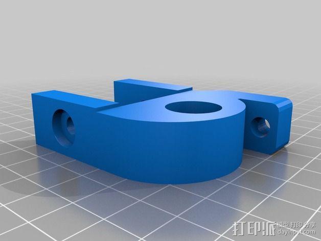 线材驱动轮 导线轮  3D模型  图2