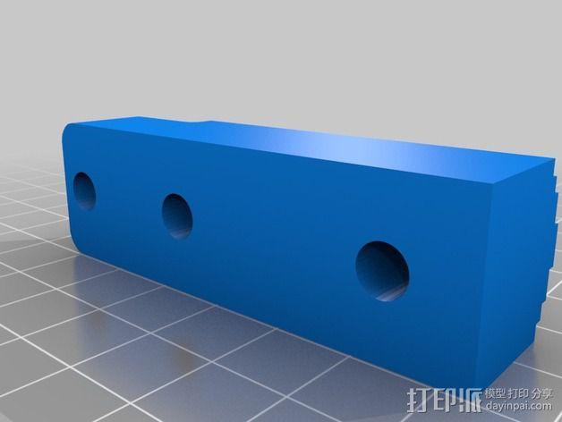 线材驱动轮 导线轮  3D模型  图4