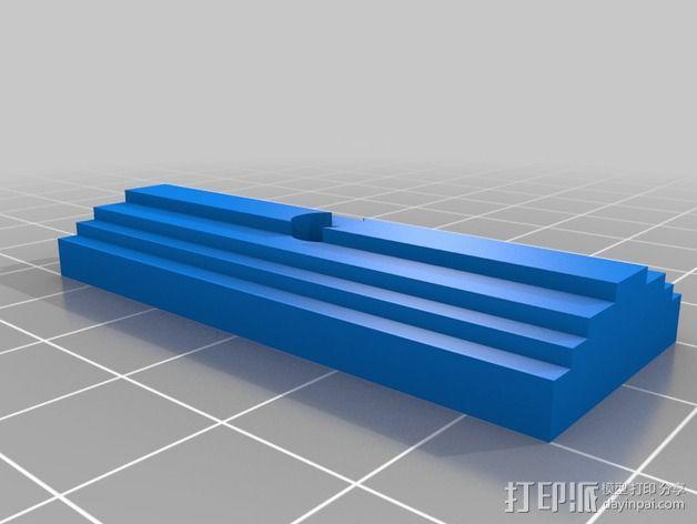 线材驱动轮 导线轮  3D模型  图6