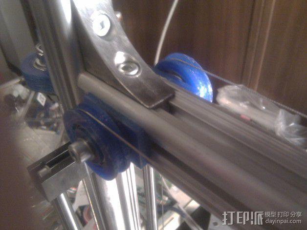 线材驱动轮 导线轮  3D模型  图12