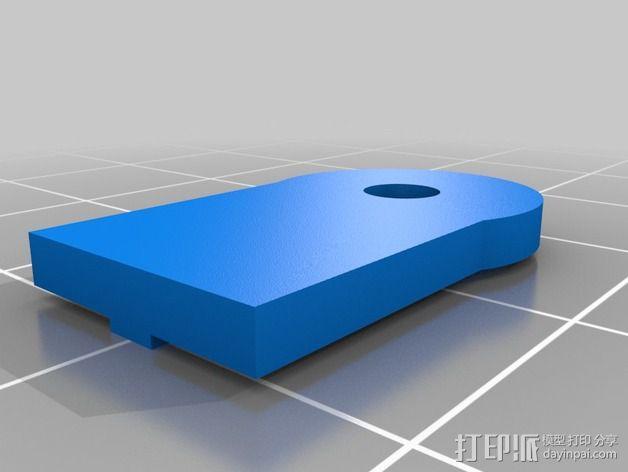 皮带固定器 3D模型  图1