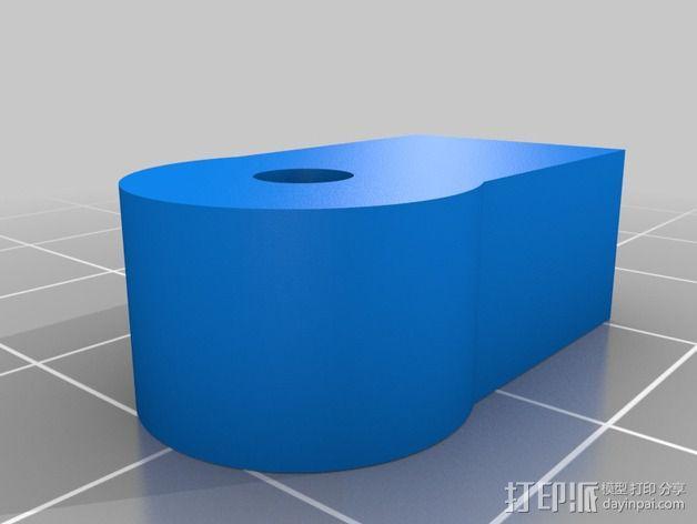 皮带固定器 3D模型  图2