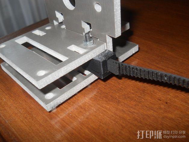 皮带固定器 3D模型  图5