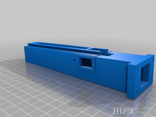 3D打印铣床 3D模型  图2