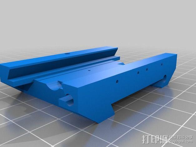 3D打印铣床 3D模型  图4