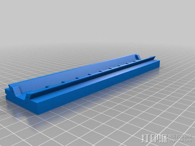 3D打印铣床 3D模型  图3