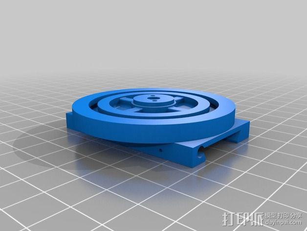 3D打印铣床 3D模型  图5