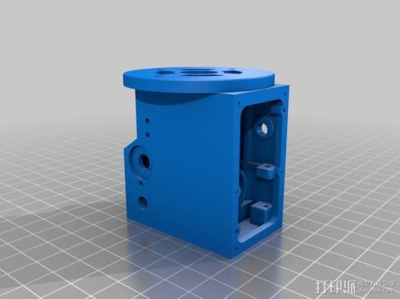 3D打印铣床 3D模型  图7