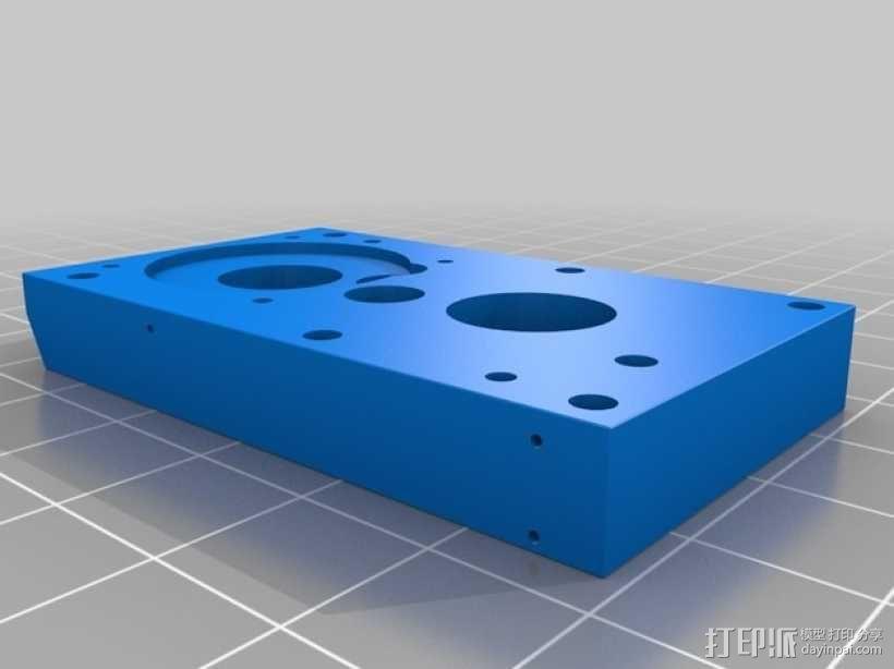 3D打印铣床 3D模型  图6