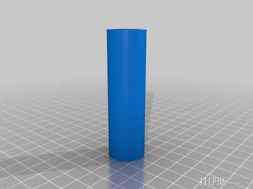 线轴扩展器  3D模型  图2