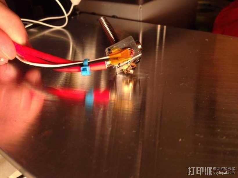 打印机喷头 3D模型  图2