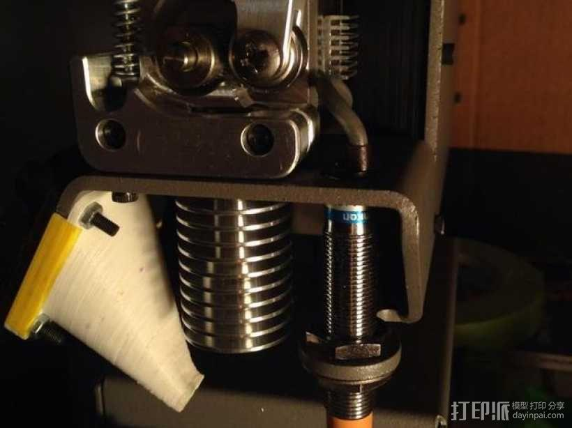 打印机喷头 3D模型  图1