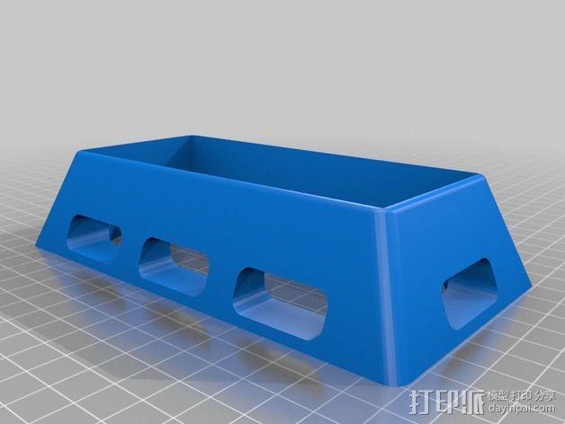 香蕉派单板电脑保护外盒 3D模型  图6