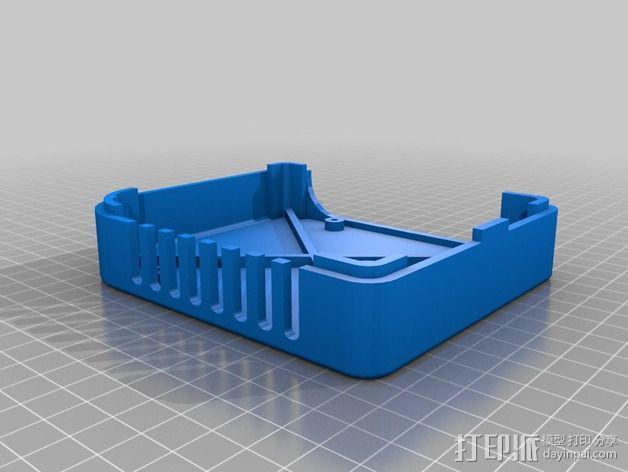 香蕉派单板电脑保护外盒 3D模型  图7