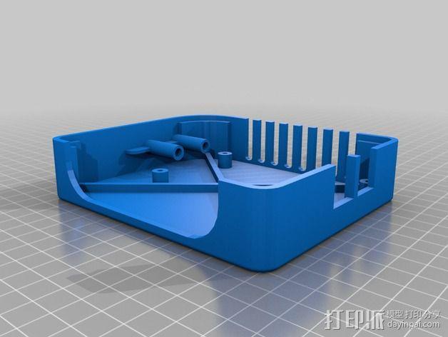香蕉派单板电脑保护外盒 3D模型  图8