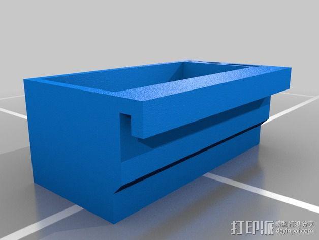 零件盒 配件盒  3D模型  图2