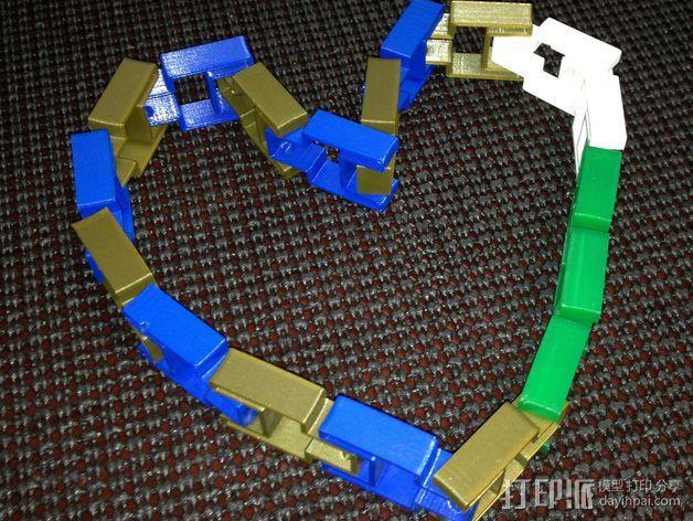 链条 链锁 3D模型  图3