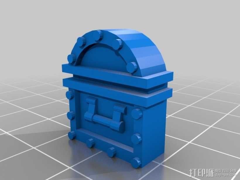 百宝箱连接器  3D模型  图1