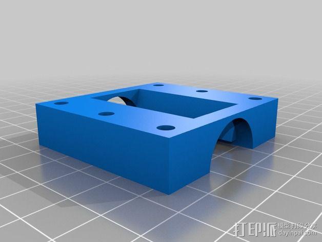 垂直漏斗 3D模型  图4