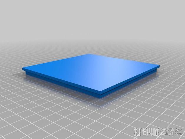 垂直漏斗 3D模型  图3