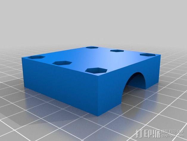 垂直漏斗 3D模型  图5