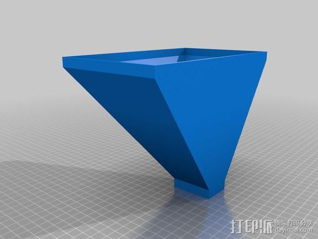 垂直漏斗 3D模型  图9