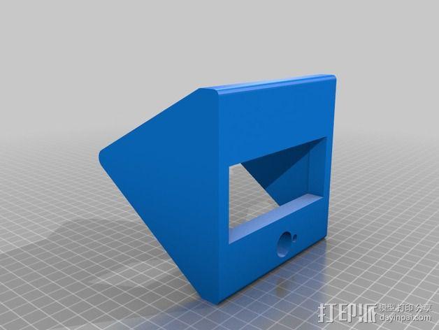 打印机控制器显示屏外壳 3D模型  图3