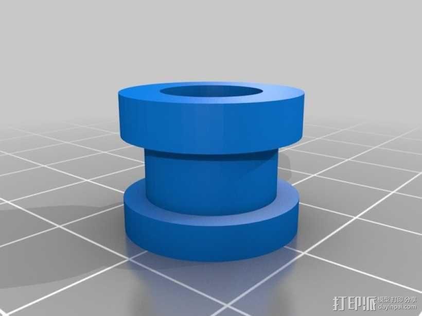 MK8挤出机模块 3D模型  图4