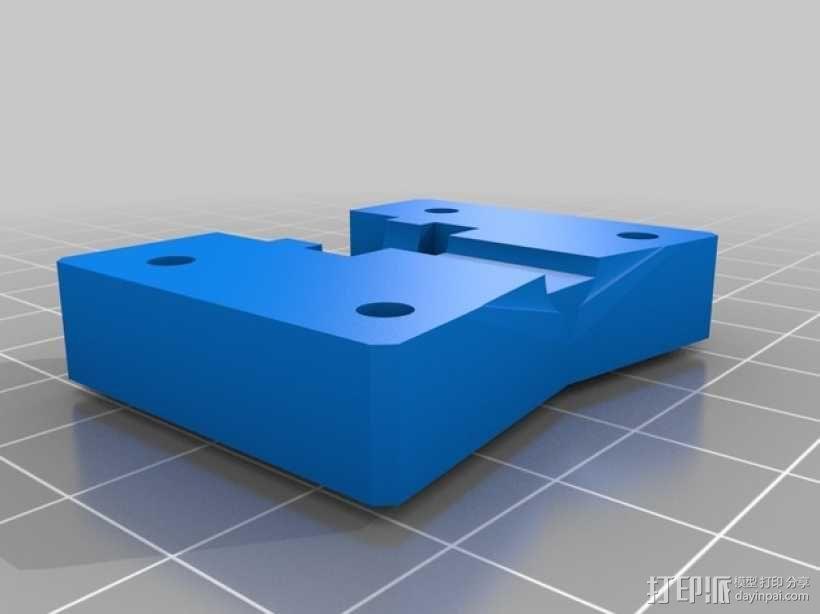 MK8挤出机模块 3D模型  图5