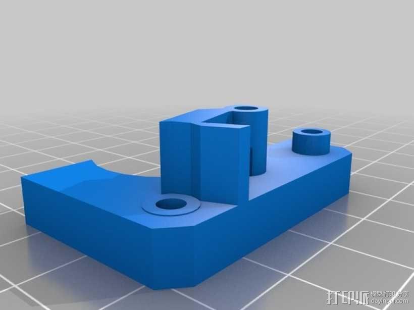 MK8挤出机模块 3D模型  图6